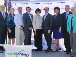 Senator Fran Pavley attended the World Energy Press Conference