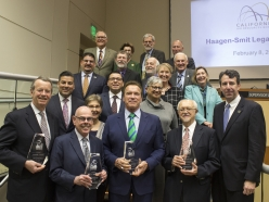 Schwarzenegger Receives the Haagen-Smit Legacy Award from the California Air Resources Board