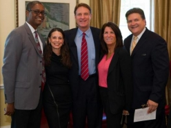 Luncheon with Senator Evan Bayh