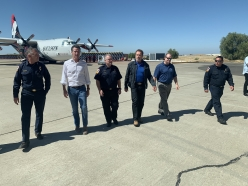 Governor Schwarzenegger and Governor Newsom Team Up to Modernize CalFire's Air Force