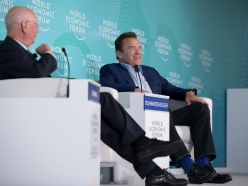 World Economic Forum: Schwarzenegger and Schwab Discuss the Fourth Industrial Revolution