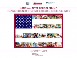 Watch WEBCAST of The National After-School Summit - March 24th