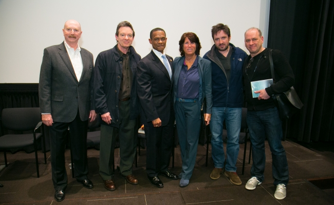 Randy Parsons, Lawrence Wright, Dr. Erroll Southers, Bonnie Reiss, Alex Cary, Evan Katz