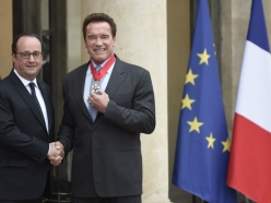 Governor Schwarzenegger Receives France's Highest Honor for His Environmental Work
