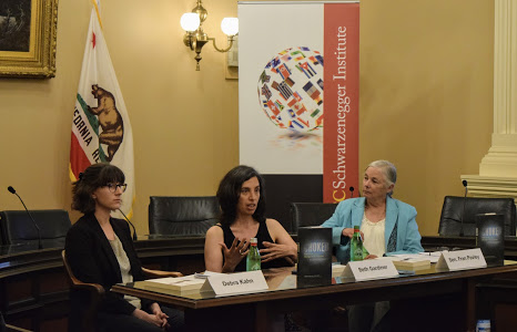 Author Beth Gardiner, Politico's Debra Kahn, and Senator Fran Pavley discuss Choked: Life and Breath in the Age of Air Pollution at the California State Capitol